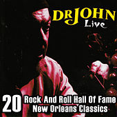 Dr. John Live – 20 Rock And Roll Hall Of Fame & New Orleans Classics by Dr. John