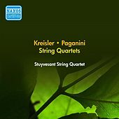Kreisler, F.: String Quartet in A Minor / Paganini, N.: Quartet No. 7 (Stuyvesant String Quartet) (1954) by The Stuyvesant String Quartet