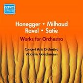 Satie: 3 Gymnopedies / Ravel: La Tombeau De Couperin / Honegger: Pastorale D'Ete / Milhaud: Le Boeuf Sur Le Toit (Goltzer) (1954) by Vladimir Golschmann