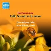 Rachmaninov, S.: Cello Sonata (Nelsova, Balsam) (1956) by Zara Nelsova