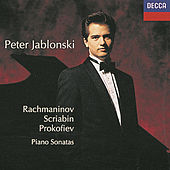 Russian  Piano Sonatas by Peter Jablonski