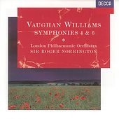 Vaughan Williams: Symphonies Nos.4 & 6 by London Philharmonic Orchestra