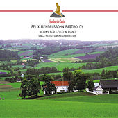 Mendelssohn: Works for Cello & Piano by Simone Dinnerstein