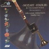 Mozart & Stadler: Basset Horn Divertimenti by Colin Lawson