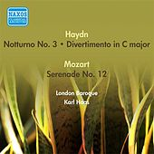 Haydn, J.: Notturno No. 3 in C Major / Divertimento in C Major / Mozart, W.A.: Serenade, K. 388 (London Baroque, K. Haas) (1954) by Karl Haas