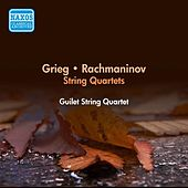 Grieg, E.: String Quartet in G Minor / Rachmaninov, S.: String Quartet No. 1 (Guilet String Quartet) (1954) by Guilet String Quartet