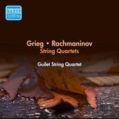 Grieg, E.: String Quartet in G Minor / Rachmaninov, S.: String Quartet No. 1 (Guilet String Quartet) (1954) by Guilet String Quartet