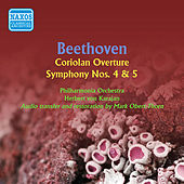 Beethoven: Symphonies No. 4 and 5 by Herbert Von Karajan