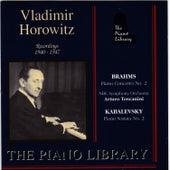 Brahms: Piano Concerto No.2 - Kabalevsky: Piano Sonata No. 2 by Vladimir Horowitz