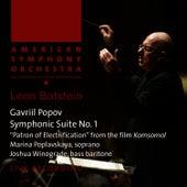 Popov: Symphonic Suite No. 1,