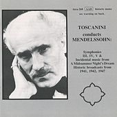 Toscanini conducts Mendelssohn by Arturo Toscanini