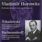 Tchaikovsky, P.I.: Piano Concerto No. 1 / Rachmaninov, S.: Piano Concerto No. 3 (Horowitz, Hollywood Bowl, W. Steinberg, Koussevitzky) (1949, 1950) by Vladimir Horowitz