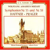 Mozart : Sinfonie No. 38, Haffner - Sinfonie No. 35, Praga by Mozart Festival Orchestra