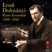 Piano Essentials 1929-1956 by Erno Dohnanyi