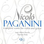 PAGANINI: Works for Violin and Guitar (Complete) by Luigi Alberto Bianchi