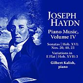 Joseph Haydn: Piano Music Volume IV by Gilbert Kalish
