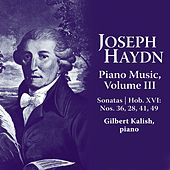 Joseph Haydn: Piano Music Volume III by Gilbert Kalish