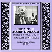 The Art of Josef Gingold by Josef Gingold