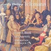 Telemann, G.P.: Quartets Nos. 1-6 by American Baroque