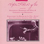 Wilhelm Furtwangler Conducts Hindemith and Stravinsky (1950-1953) by Wilhelm Furtwangler