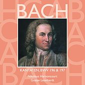 Bach, JS : Sacred Cantatas BWV Nos 196 & 197 by Various Artists
