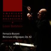 Busoni: Berceuse élégiaque by American Symphony Orchestra