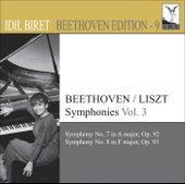 Beethoven, L. Van: Symphonies (Arr. F. Liszt for Piano), Vol. 3 (Biret) - Nos. 7, 8 by Idil Biret