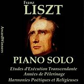 Liszt, Vol. 4: 12 Etudes - Années de Pèlerinage (AwardWinners) by Various Artists