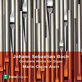 Bach, JS : Complete Organ Works [1980] by Marie-Claire Alain