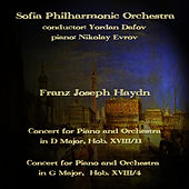 Franz Joseph Haydn: Concerts for Piano and Orchestra by Sofia Philharmonic Orchestra
