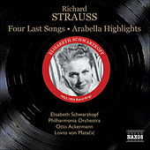 Strauss, R.: Four Last Songs / Arabella (Highlights) (Schwarzkopf, Ackermann, Matacic) (1953, 1954) by Elisabeth Schwarzkopf