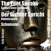 The Poet Speaks , Der Dichter Spricht ( Scenes from Childhood , Kinderszenen ) (feat. Falk Richter) - Single by Robert Schumann