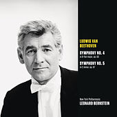 Beethoven: Symphony No. 4 in B-flat major, op.60; Symphony No. 5 in C minor, op. 67 by New York Philharmonic