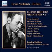 Jascha Heifetz Miniatures, Vol. 2 (1944-1948) by Jascha Heifetz
