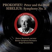 Prokofiev: Peter and the Wolf / Sibelius: Symphony No. 2 (Koussevitzky) (1950) by Sergey Koussevitzky