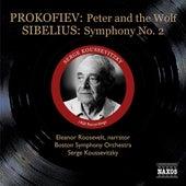 Prokofiev: Peter and the Wolf / Sibelius: Symphony No. 2 (Koussevitzky) (1950) by Sergey Koussevitzky