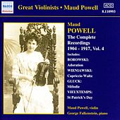 Powell, Maud: Complete Recordings, Vol.  4 (1904-1917) by Maud Powell