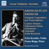 Kreisler Plays Kreisler by Fritz Kreisler