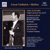 Vieuxtemps: Violin Concertos Nos. 4 and 5 (Heifetz) (1935-1947) by Jascha Heifetz