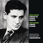 Shapero: Symphony for Classical Orchestra; Stravinsky: Symphony of Psalms by Leonard Bernstein