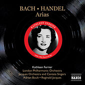 Bach, J.S.: Ascension Oratorio, Bwv 11 / Arias / Handel G.F.: Arias (Ferrier) (1949, 1952) by Kathleen Ferrier