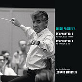 Prokofiev: Classical Symphony (No. 1) in D major, op. 25; Symphony No. 5 in B-flat major, op. 100 by Leonard Bernstein