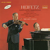 Saint-Saëns: Sonata No. 1, Op. 75, in D Minor, Sibelius, Wieniawski, Rachmaninoff, de Falla by Jascha Heifetz