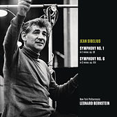 Sibelius: Symphony No. 1 in E minor, op. 39; Symphony No. 6 in D minor, op. 104 by Leonard Bernstein