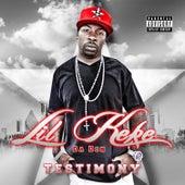 Testimony by Lil' Keke