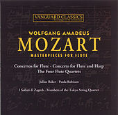 Masterpieces for Flute by Wolfgang Amadeus Mozart