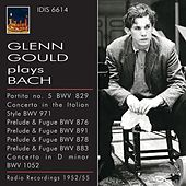 Glenn Gould plays Bach (1952-1955) by Various Artists