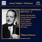 Primrose: Recital, Vol. 2 by Various Artists