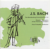 The Brandenburg Concertos No. 1-6 by Johann Sebastian Bach