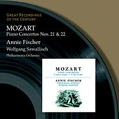 Piano Concertos Nos. 21 & 22 Annie Fischer by Wolfgang Amadeus Mozart